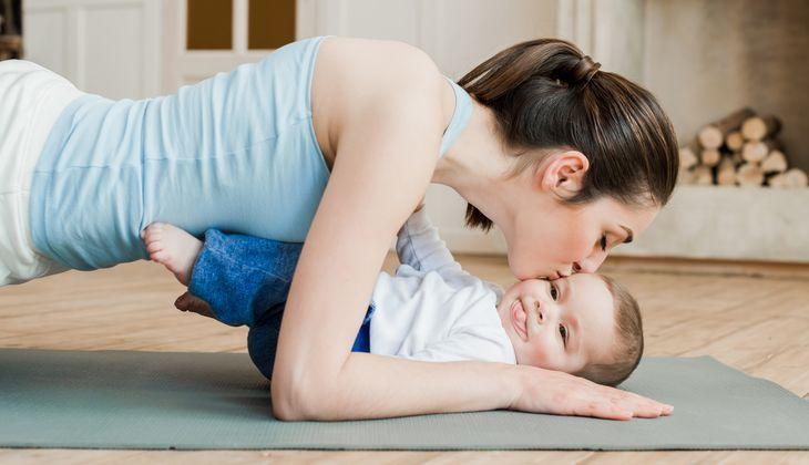 Упражнение планка после родов