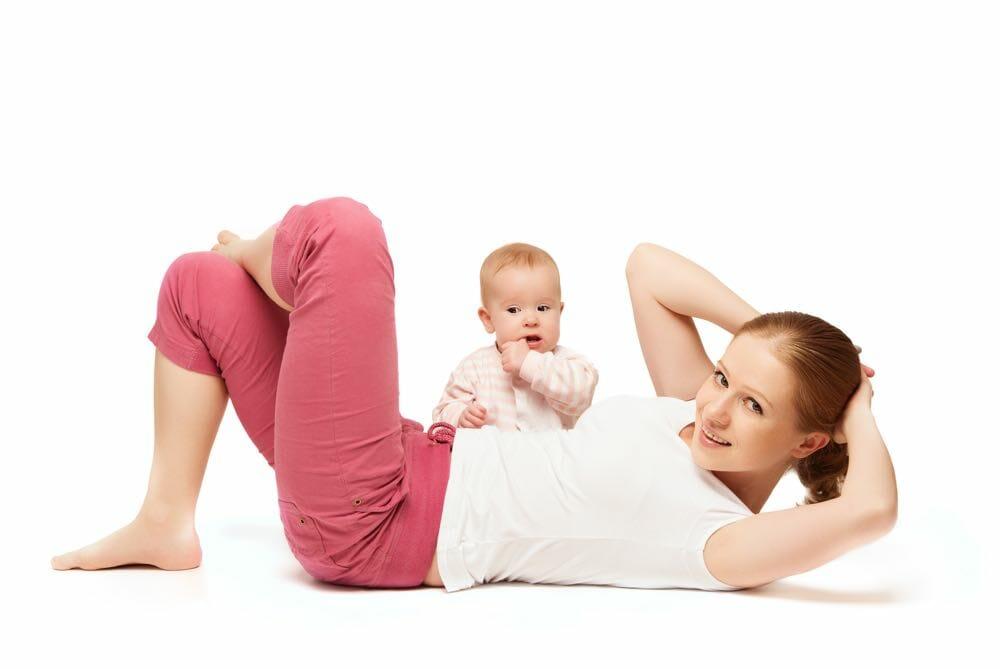 Упражнения на боковые мышцы пресса после родов