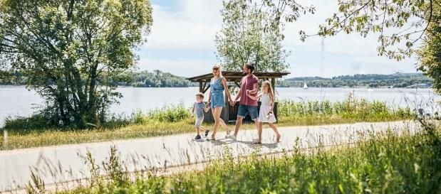 семейные прогулки в парке